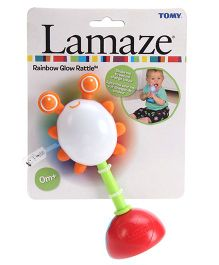 Lamaze Rainbow Glow Rattle Toy