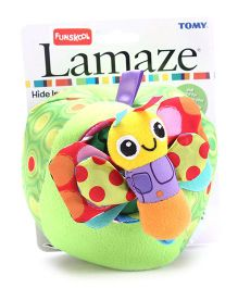 Lamaze Hide Inside Butterfly Clip on Soft Toy
