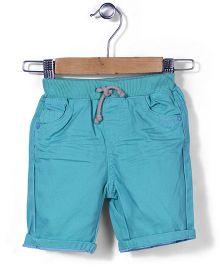 Mothercare Turn Up Hem Shorts - Sea Green