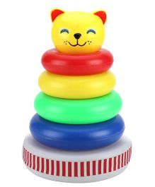 Toddlers Musical Ring Stackers - 4 Pieces