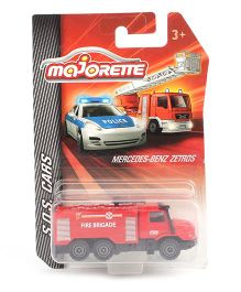 Majorette Emergency Vehicle Fire Engine Toy - Red