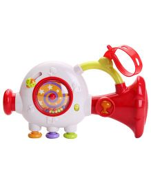 ABC Musical Instrument Toy  - Red And White