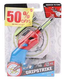 Boomco Grip Strike Gun - Blue And Red