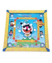 Doraemon Carrom Board - Yellow Blue