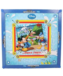 Disney Mickey Mouse And Friends Carrom Board - Blue