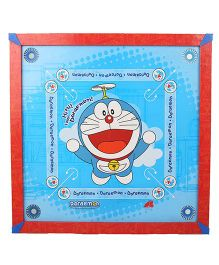 Doraemon Carrom Board - Red And Blue