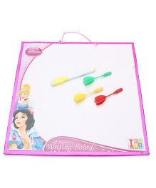 Disney Princess White Board Cum Dart Board - Pink