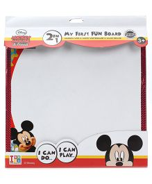 Disney Mickey Mouse And Friends Writing Cum Game Board - White