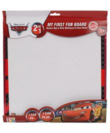 Disney Pixar Cars 2 in 1 Writing Cum Game Board - White