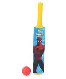 Marvel Spider Man My First Bat And Ball Set - Multicolor