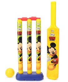 Disney Mickey Mouse Cricket Set (Color & Print May Vary)
