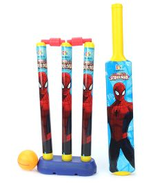 Marvel Spider Man My First Cricket Set - Red And Blue