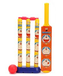 Doraemon My First Cricket Set Doraemon Theme - Yellow And Orange