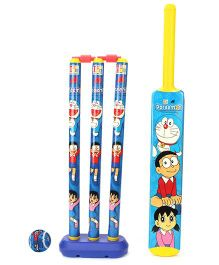 Doraemon Cricket Set - Blue