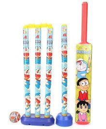Doraemon Cricket Set - Yellow And Blue