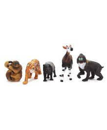Wild Republic Rainforest Animals - 5 Pieces