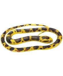 Wild Republic Rubber Snake Burmese Python Yellow - 72 Inches