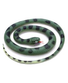 Wild Republic Rubber Snake Anaconda Green - 46 Inches