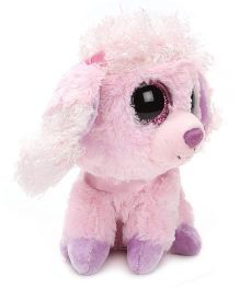 Wild Republic Sweet And Sassy Cotton Candy Poodle Soft Toy - Pink