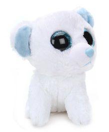 Wild Republic Sweet And Sassy Bear Marshmallow Soft Toy - White