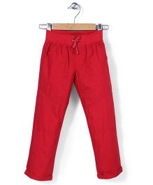 Mothercare Crunchy Cotton Trouser - Red