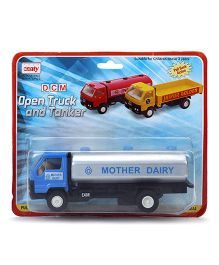 Centy Mother Diary Tanker Die Cast Model Toy - Blue