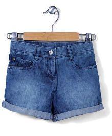 Mothercare Denim Shorts - Light Blue