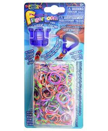 Rainbow Loom Finger Loom Bands- Violet