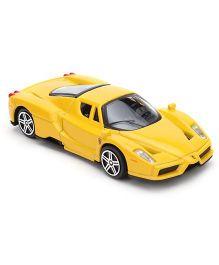 Bburago Ferrari Enzo Race And Play Model Car Toy - Yellow