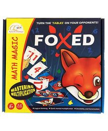 CQ Games Foxed Math Magic Board - Blue