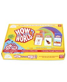 CQkids How in the World Board Game - Yellow