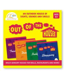 CQKids Out of the Housee Board Game - Yellow