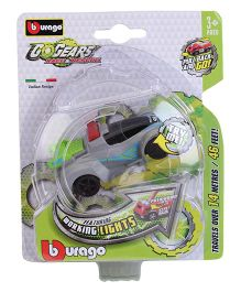 Bburago Go Gears Emergency Vehicle - Grey