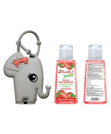 Zuci Junior Sanitizer With Elephant Bag Tag 30 ml (Flavors May Vary)