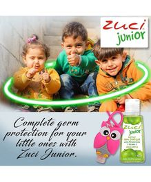 Zuci Junior Green Apple Hand Sanitizer With Bag Tag - 30 ml