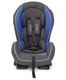 Babyhug Convertible Safe Journey Car Seat - Blue & Grey