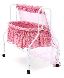 Babyhug Dream Time Cradle - Pink
