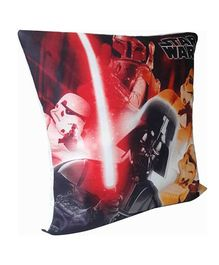 Star Wars  R2D2 Print Cushion Cover- Blue And White