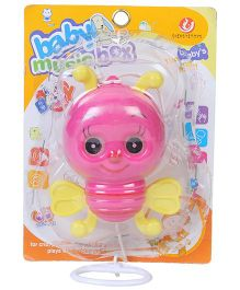 Kumar Toys Pull Along Bee - Pink