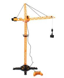 JCB Remote Controlled Crane - Yellow