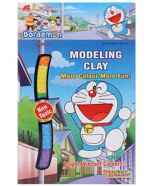Doraemon Modelling Clay - Multi Color