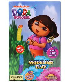 Dora Modelling Clay - Multi Color