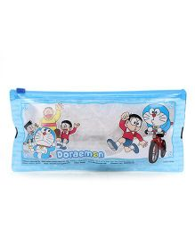 Doraemon Pencil Pouch - Blue