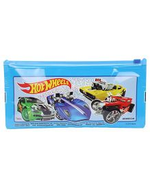 Hot Wheels Sparkle Pencil Pouch - Blue