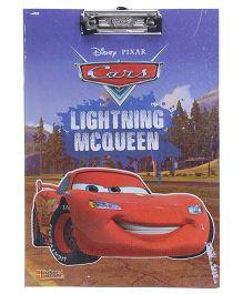 Disney Pixar Cars Lightening McQueen Exam Clipboard - Multi Color