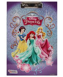 Disney Princess Sparkle Writing Pad - Purple