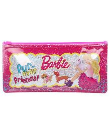Barbie Regular Sparkle Pencil Pouch - Pink