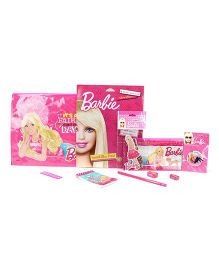 Barbie Doll-Lightful Stationery Set - Pink
