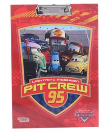 Disney Pixar Cars Pit Crew 95 Exam Clipboard