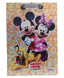 Disney Mickey Mouse and Friends Exam Clipboard - Orange